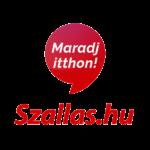 Szallas.hu Maradj Itthon logó